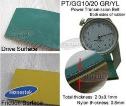 La courroie de transmission de puissance (PT/GG10/20 GR/YL-2.0)