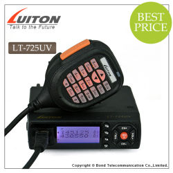 La conception la plus compacte avec ventilateur 25W à double bande VHF Radio Mobile UHF LT-725UV