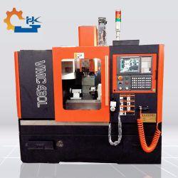 Centro de maquinagem de moagem de CNC Mini Vmc600 Sistema Fanuc