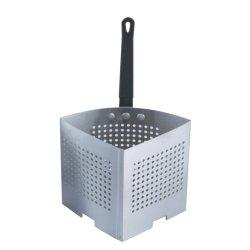 Edelstahl-tiefer Küche-Grobfilter-Teigwaren-Kocher-Korb