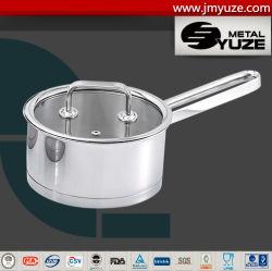 Casserole avec couvercle en verre, l'induction des ustensiles de cuisine Set, pot de la cuisine, de nouilles Pan, ustensiles de cuisine