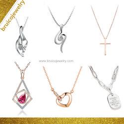 Le Hip Hop Custom Bijoux Argent Bijoux en diamants de mode 9K 14K or 18K Collier pendentif