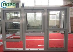 النافذة المفصلية الجانبية PVC (دائرة ظاهرية دائمة) المعايير الأسترالية