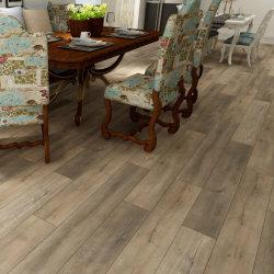 Salle de bain revêtement de sol en vinyle Spc Flooring Vinyle épais planchers de bois revêtement de sol en vinyle Look Cuisine
