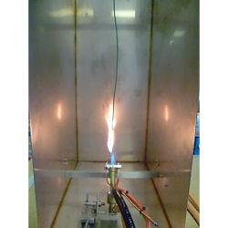 Câble unique testeur de gravure de fil de propagation de flamme verticale Équipement de test