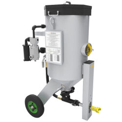 Bateau de l'équipement de sablage avec casque de sablage de filtre à air