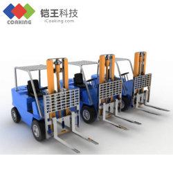 Bauindustrie-elektrostatischer Spray-weiße Farben-Puder-Beschichtung für Befestigungsteil-Maschinerie