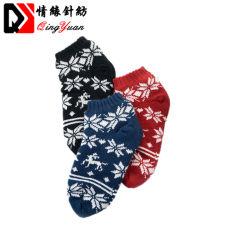 Les femmes chaudes de Noël Sherpa Fluflly Fuzzy thermique Slipper Chaussettes de cheville