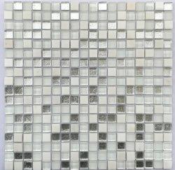 300*300 мм современным дизайном роскошных серый цвет стекла Moasic плитки для монтажа на стену оформление пола