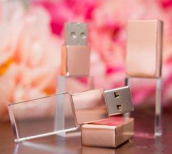 USB istantaneo di cristallo Momory 1GB 2GB 4GB 8GB 16GB 32GB 64GB dell'azionamento di migliore marchio di prezzi 3D