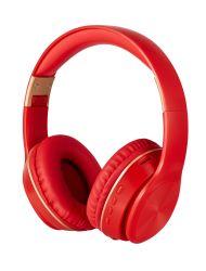 Rouge sur l'oreille pliable et portable casque Bluetooth sans fil supérieure