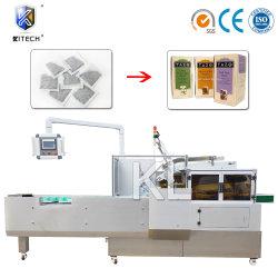 Sachets de Thé horizontale multifonction de boîte en carton<br/> Paquet Automatique de la machine