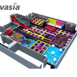 Vasia ASTMの公認のトランポリンはIndoor&Outdoorのトランポリンのベッドをからかう