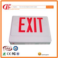 고품질 Df LED 출구 표시 빛에 의하여 주문을 받아서 만들어지는 덧나막신 출구 빛 비상등 220V