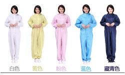 Vestuário para salas brancas Anti-Static Garment Fabricado na China Fabricante de origem