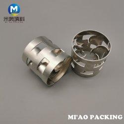 Le métal Pall anneau pour la colonne d'emballage de produits chimiques