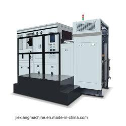 Automatische heiße Aushaumaschine-Ebene, die Goldfolien-Maschine bronzierend sich betätigt