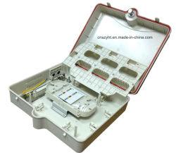 Для использования вне помещений 48 портов распределительной коробки Волоконно оптическая распределительная коробка машины установите флажок прекращения