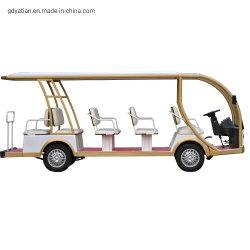 Yatian neue Passagier-besichtigender touristischer Fahrzeug-Doppelventilkegel-Bus des Flughafen-14