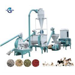 1.5-2 Ton/H Bauernhof-Geflügel-Tiergebrauch-Vieh-Hühnerfutter-Tabletten-Maschinen-Preis für Verkauf