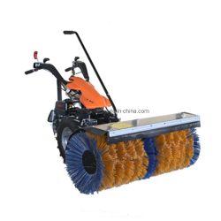 استخدم المكنسة الكهربائية التي تعمل على الطرق التي تعمل بالجازولين طيلة الموسم مع فرشاة الثلج كانسة للبيع