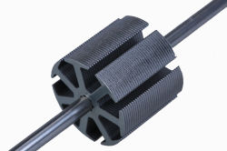 DC 모터를 위한 회전자 (코어 길이 225mm, ID 80mm는, 56를 홈을 판다)