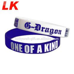 Custom оптовой дружбы резиновую ленту браслет для мужчин