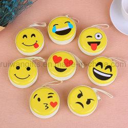 Оптовая торговля Emoji круглый Тин окно молнией медали кошелек для рекламных подарков