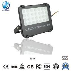 LEDのフラッドライト10Wの高い発電850lmのセリウムRoHSの屋外か正方形または庭の照明
