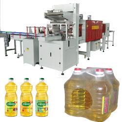 L'involucro termico della pellicola di Shrink di restringimento di calore che sposta la macchina per l'imballaggio delle merci in pronto di riserva a spedire trasporta