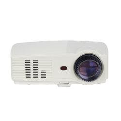 La video risoluzione 720p del proiettore 1280X800 si dirige il video di sostegno 1080P del proiettore per il film domestico da USB/HDMI/VGA/AV/TV