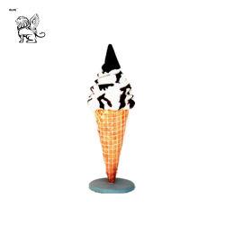 Beste verkaufende kundenspezifische Eiscreme-Harz-Skulptur Fsc-013