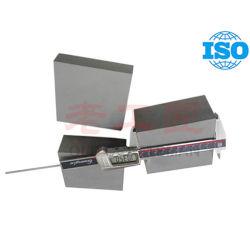 Placa del carburo de tungsteno para la pieza del molde con el certificado de la ISO