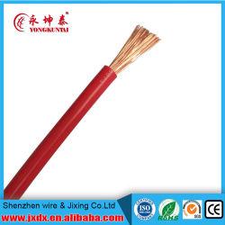 Couvercle en PVC/veste/cuivre de gaine électrique/fil électrique de la propriété rigide