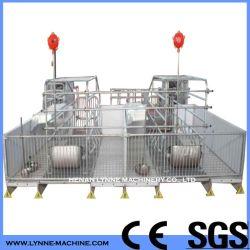 Porc galvanisé à chaud de la gestation caisse/de calage/Cage pour truies avec taille personnalisée