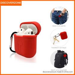 耐震性BluetoothのヘッドホーンカバーのためのシリコーンのAirpodsの柔らかいケース