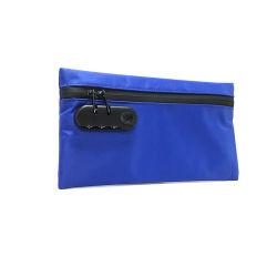 Fermeture à glissière imperméable fermeture à glissière d'étanchéité de l'odeur odeur bordée de carbone LA PREUVE La preuve un sac à main avec verrou