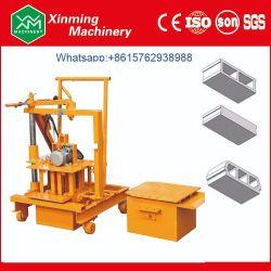 Qmy2-45煉瓦製造業者のための小さく移動可能で具体的な空のブロック機械セメントの固体煉瓦作成機械価格