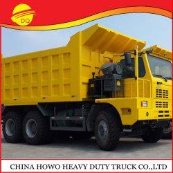 Approbation Ce HOWO Les mines de charbon de camion à benne benne basculante 6X4