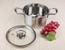 La inducción de acero inoxidable olla de sopa Saucepot inferior