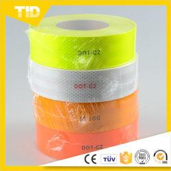 Mikroprismatisches Orangefarbenes, Klares DOT C2-Reflexionsband für Autos