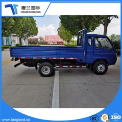 Carretilla elevadora diesel de carga plana camión de plataforma plana/ Camión de carga plana