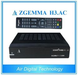 DVB-S2+Internet sintonizadores doble ATSC IPTV de verificación del sistema operativo Linux Enigma2 satélite estadounidense Zgemma receptor H3. AC