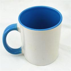 Grau a AAA+ 11oz Logotipo Sublimação de porcelana e impressão de fotos caneca