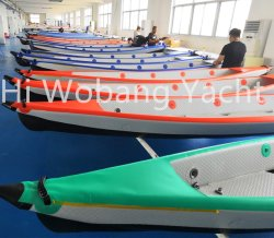 470cm Embarcações insufláveis Sea caiaque inflável de barco de pesca