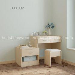 Quarto Personalizado mobiliário moderno em madeira cômoda espelhado
