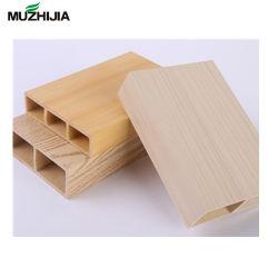 Tubo a prova di fuoco interno composito di plastica di legno del legname del PVC di WPC