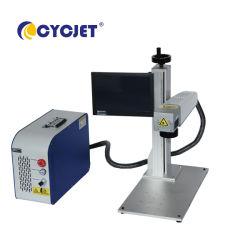 Metallplattenfirmenzeichen-Laser-Kodierung-Drucker-Maschine