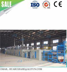 ISO9001 de residuos de algodón de alta capacidad de disco duro que hace la máquina y ropa de cama blanda colchoneta de fibra desperdiciada / aguja Geotextile perforado de la línea de producción de algodón de disco duro