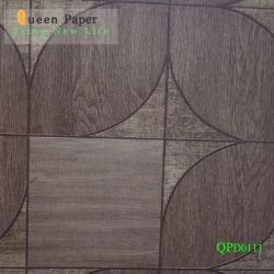 Baumaterial PVC Vinyl Innendekor Wandpapier / Selbstklebendes PVC-Wandpapier für Wanddekoration China Wholesale Innendekoration PVC-Wandpapier